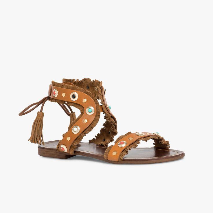 Sandales plates pour Femme   Bocage