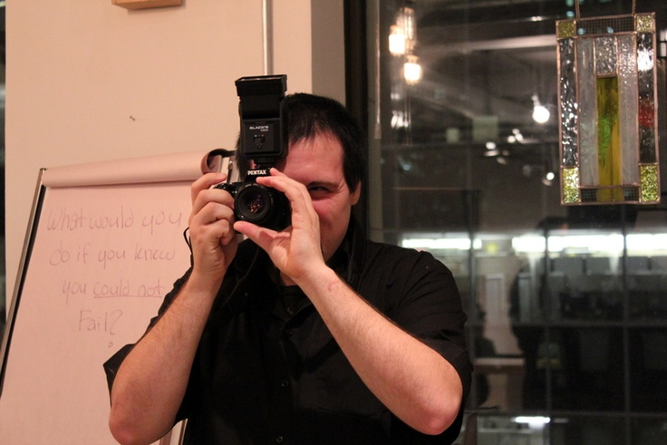 Steve our photographer for the evening!