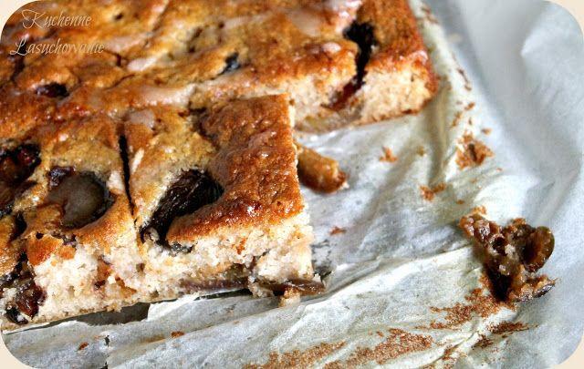 Kuchenne Łasuchowanie: Błyskawiczne ciasto gryczane ze śliwkami
