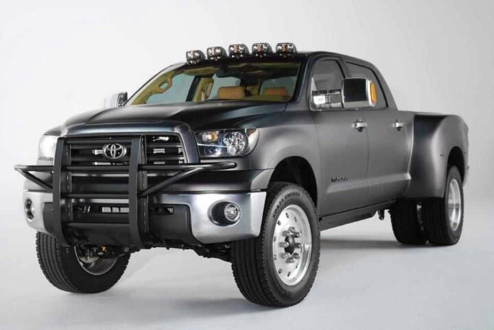 toyota dually concept  toyota tundra toyota trucks