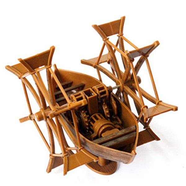 Rece para sky réplica modelo de montagem de leonardo da vinci pá de alta velocidade pedalinho yakuchinone pai   brinquedos para crianças em Carrinhos de brinquedo de Brinquedos & Lazer no AliExpress.com | Alibaba Group