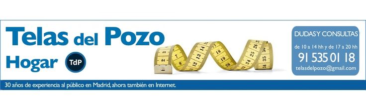 Hogar - Tu tienda en Madrid para comprar telas online.