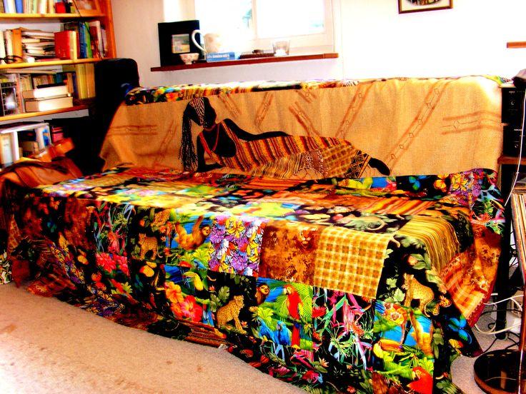 A sofa cover.