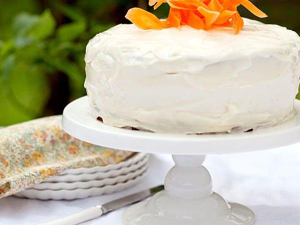 Gluten- och laktosfri morotskaka