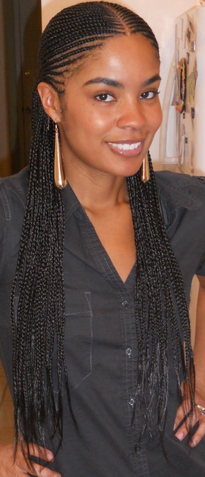 Cornrow Braids Human Hair