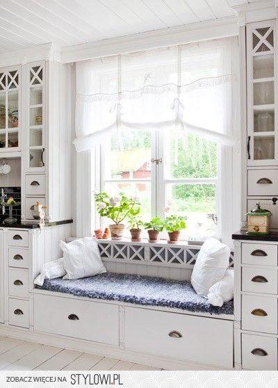kitchen window seat.