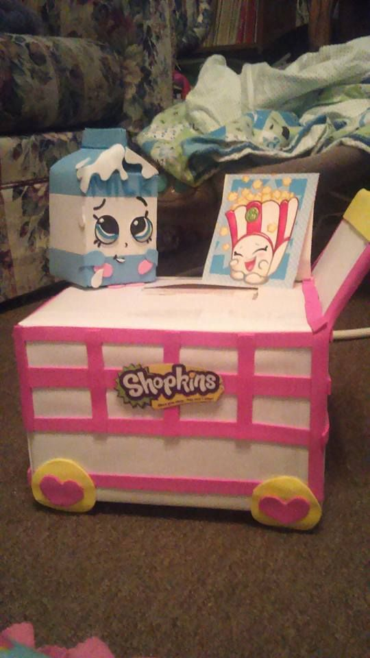 Spilt Milk Shopkins Valentines Day Box V Day Pinterest