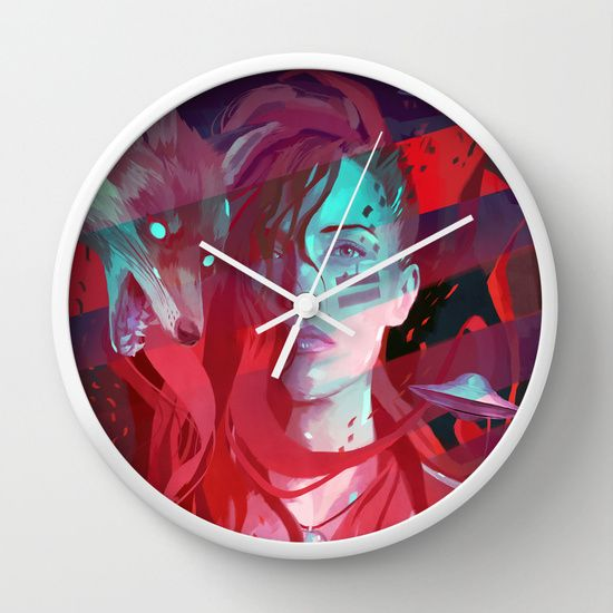 MISS SOULS Wall Clock