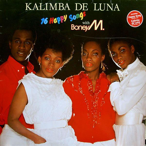 BONEY M - KALIMBA DE LUNA  (1993)