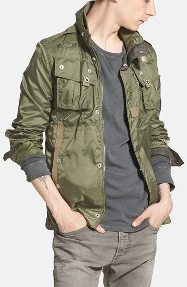 G-Star Raw 'Recolite' Shirt Jacket available at #Nordstrom