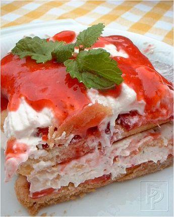 Strawberry Tiramisu ~ Aardbeien-tiramisu; Zomerkoninkjes in Italiaanse laagjes