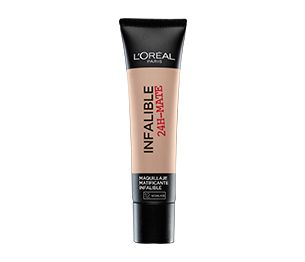 Infalible Mate 24 Horas Base Infalible Mate 24 Horas de Loreal Paris. Un maquillaje que nos deja la piel mate y libre de imperfecciones