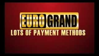 EuroGrand Casino is clearly dedicated to an international player base. They take pride at offering a first-rate customer service, fast deposits and withdrawals, with top-notch welcome offers and rich progressive jackpots adding to the excitement.
