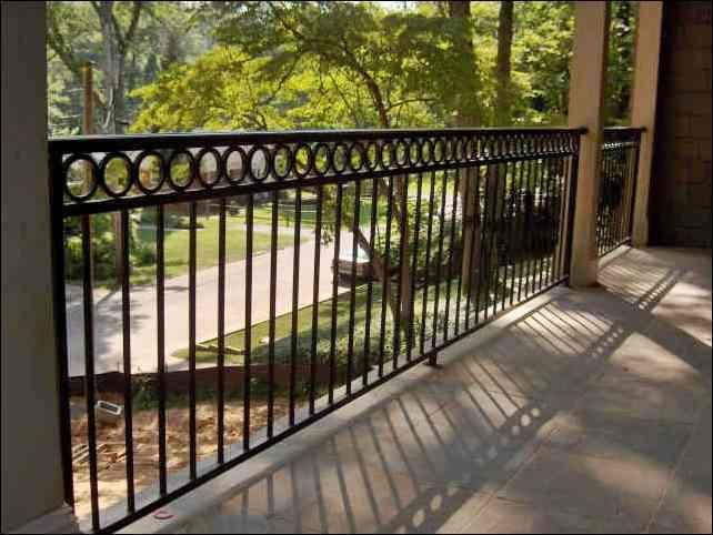 15 best images about wrought iron deck railings on pinterest - Fotos porches rusticos ...