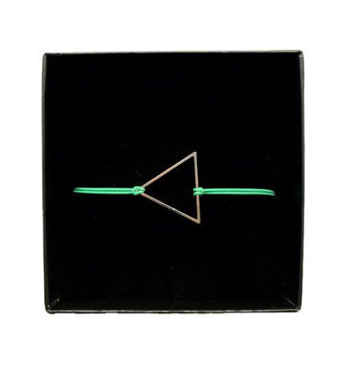 Triangle bracelet made by Essa design. https://www.etsy.com/shop/EssaDesign