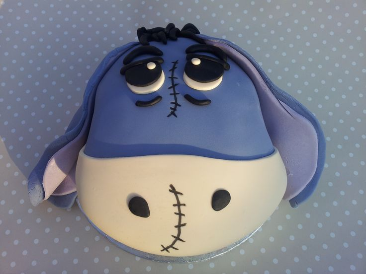 How To Make an Eeyore Cake By debs10 on CakeCentral.com