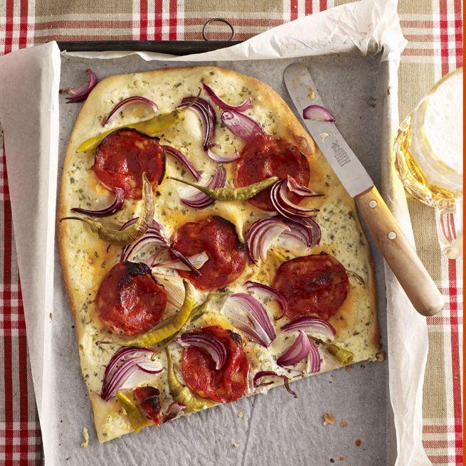 Einfach, lecker, schnell: Rezepte für Flammkuchen - Leichter kochen mit WIE EINFACH! - Schöne Sachen, die das Leben einfach machen.