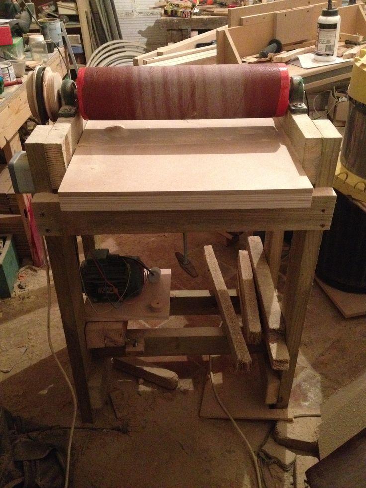 diy thickness sander finished