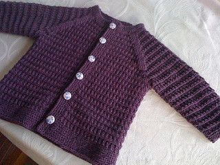 I just have to say this: I am not at all used to knitting for small children. Or big ones. I have no idea about sizing or how to write the perfect pattern with lots of different sizes to chose from and whatnot. People that have knitted this sweater tells me that it should fit a one year old. So I choose to belive them. This is by no means a professional pattern, but I was asked to share, so I did. So please don´t judge my lack of sizing and gauge skills. I´m no pro. If you want pro, there…