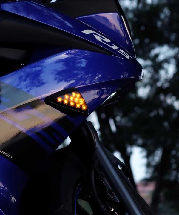 Dark Knight Wind Screen Fairing For Yamaha R15 V3