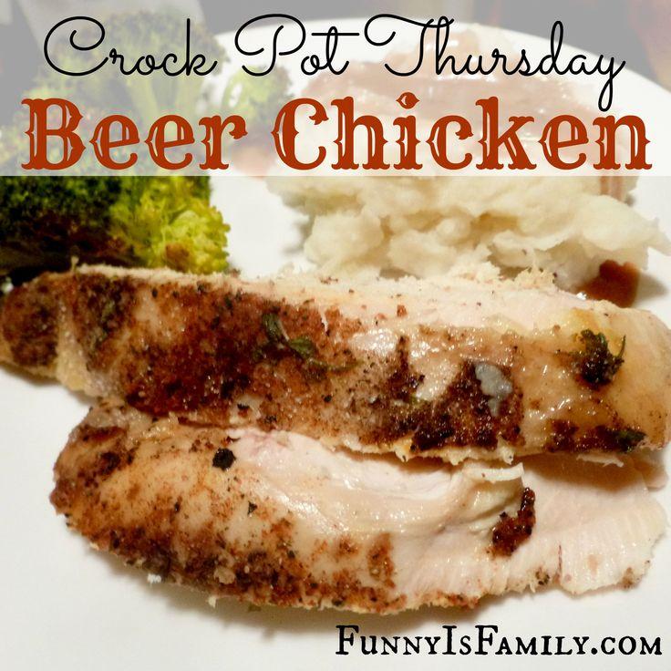 Crock Pot Beer Chicken