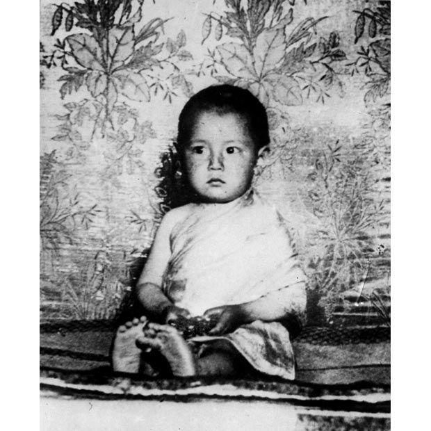 "The Young Dalai Lama  The 14th Dalai was born as Lhamo Thondup - literally ""Wish-Fulfilling Goddess"" - on 6 July 1935, in a small village just outside the current boundaries of Tibet."
