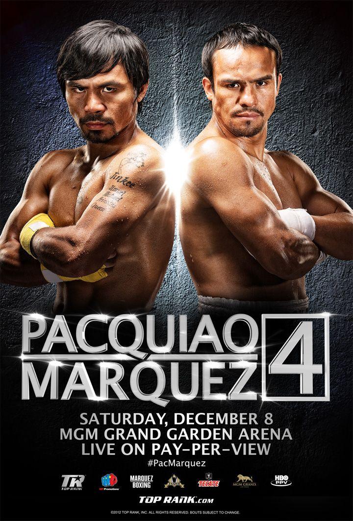 Manny Pacquiao vs Manuel Márquez