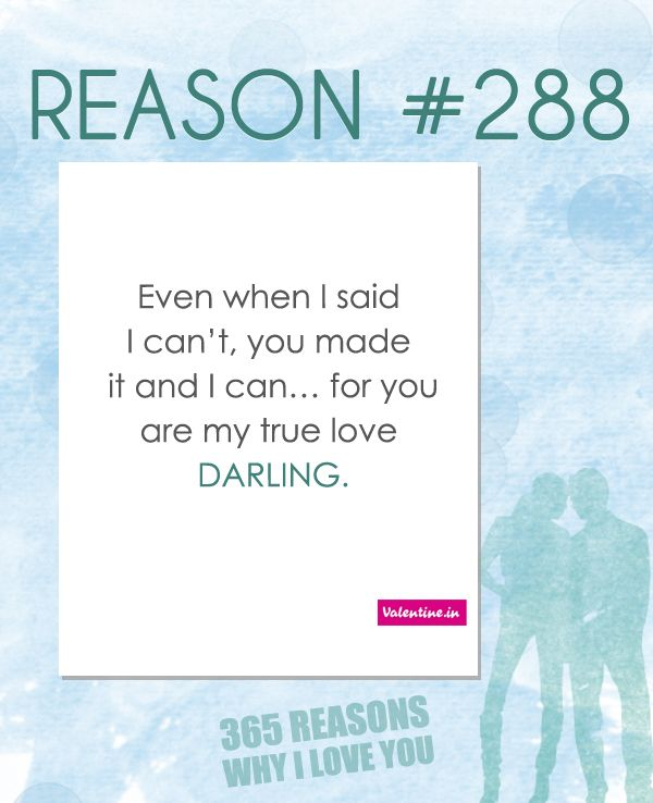 5 Reasons Why I Love You Quotes : ... reasons to love reasons ily romantic reasons my true love why i love