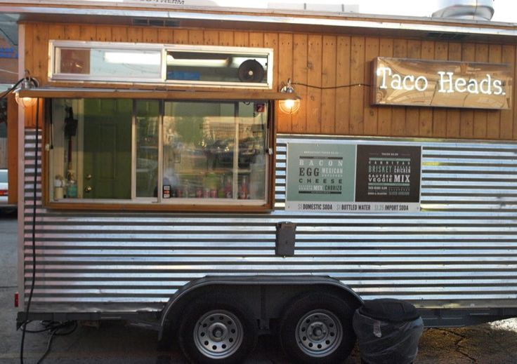 Taco Heads in 2020 Food truck, Food trailer, Fort worth
