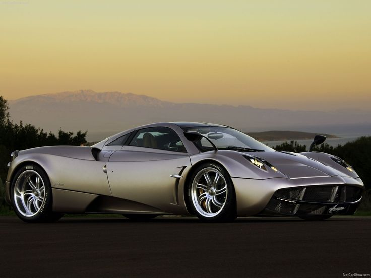 2012 Pagani Huayra. Horacio Pagani tops the Zonda with this beast.
