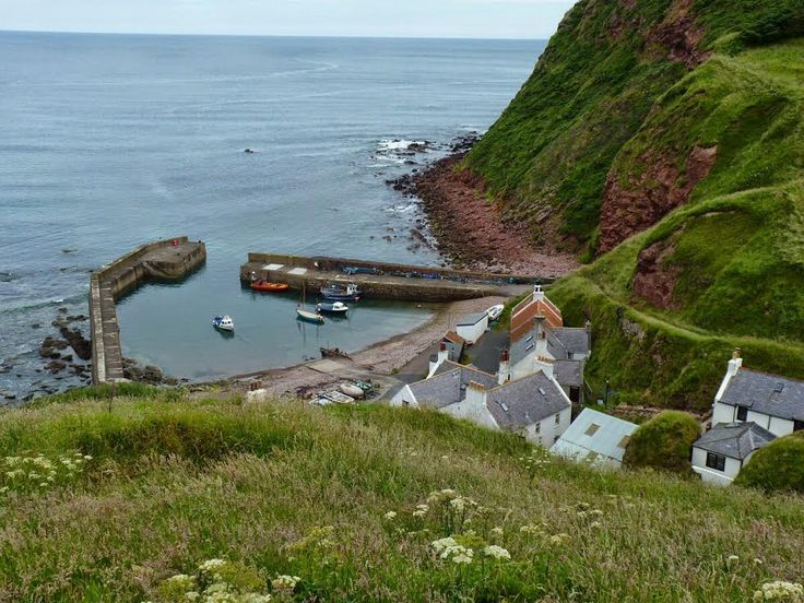 Pennan, a pretty village that is famous for featuring in the 1980s film, Local Hero.