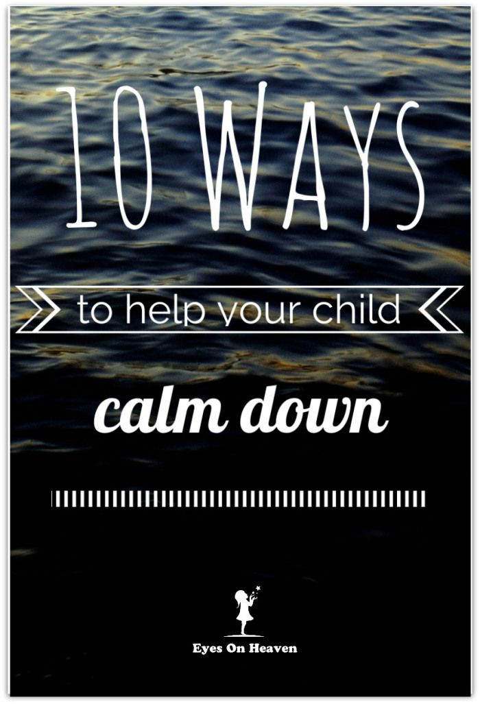 Helping Your Child Calm Down