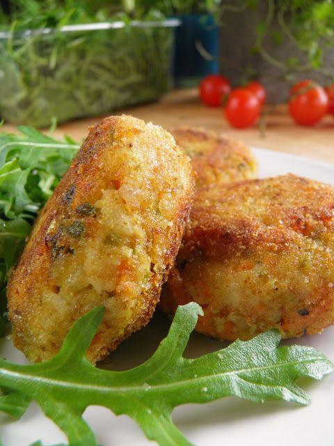 Kotlety z selera, marchewki i brukselki   sio-smutki! Monika od kuchni