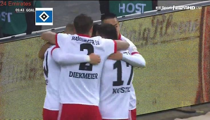 Hamburger SV vs Hoffenheim 3-0 Highlights & All Goals 26.11.2017 HD 720i