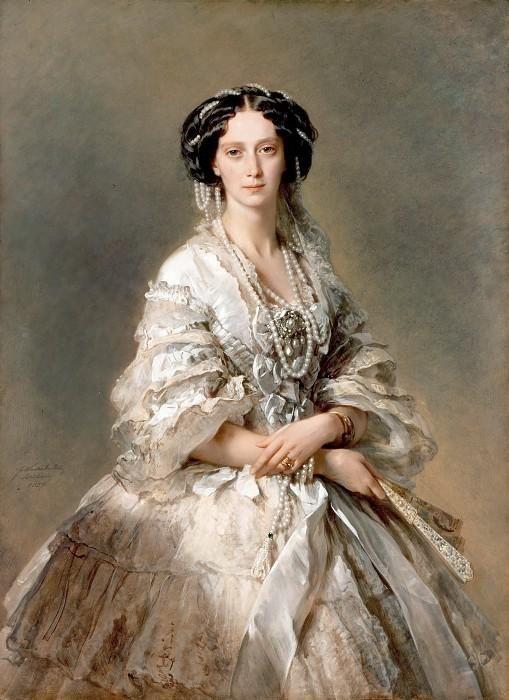 Franz Xaver Winterhalter Портрет императрицы Марии Александровны. 1857 г.