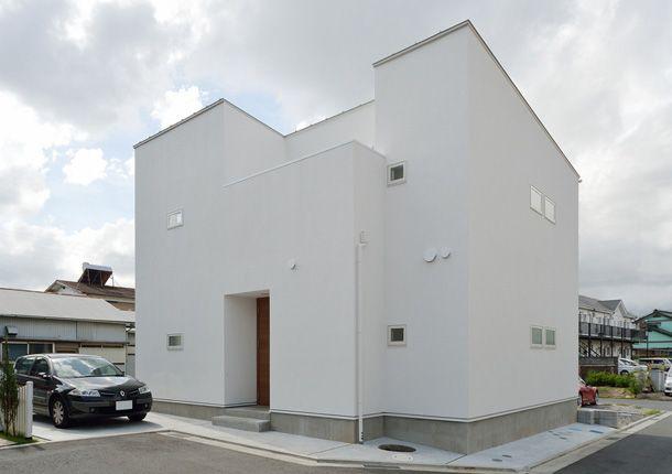開放性と閉鎖性のある佇まい・間取り(神奈川県平塚市)  ローコスト・低価格住宅   注文住宅なら建築設計事務所 フリーダムアーキテクツデザイン