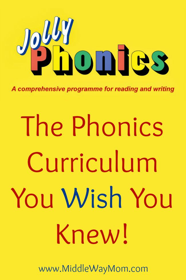 Jolly Phonics curriculum is a little known gem! Affordable and fun!