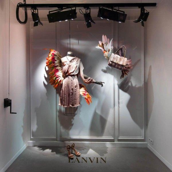 lanvin birds of paradise paris windows (7)
