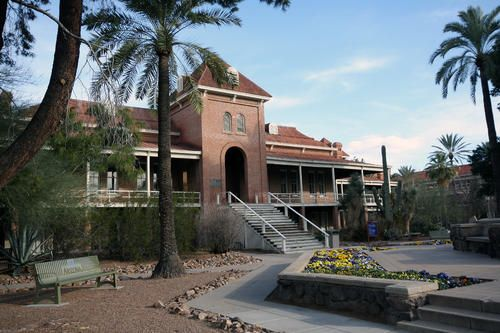 Old main at the University of Arizona