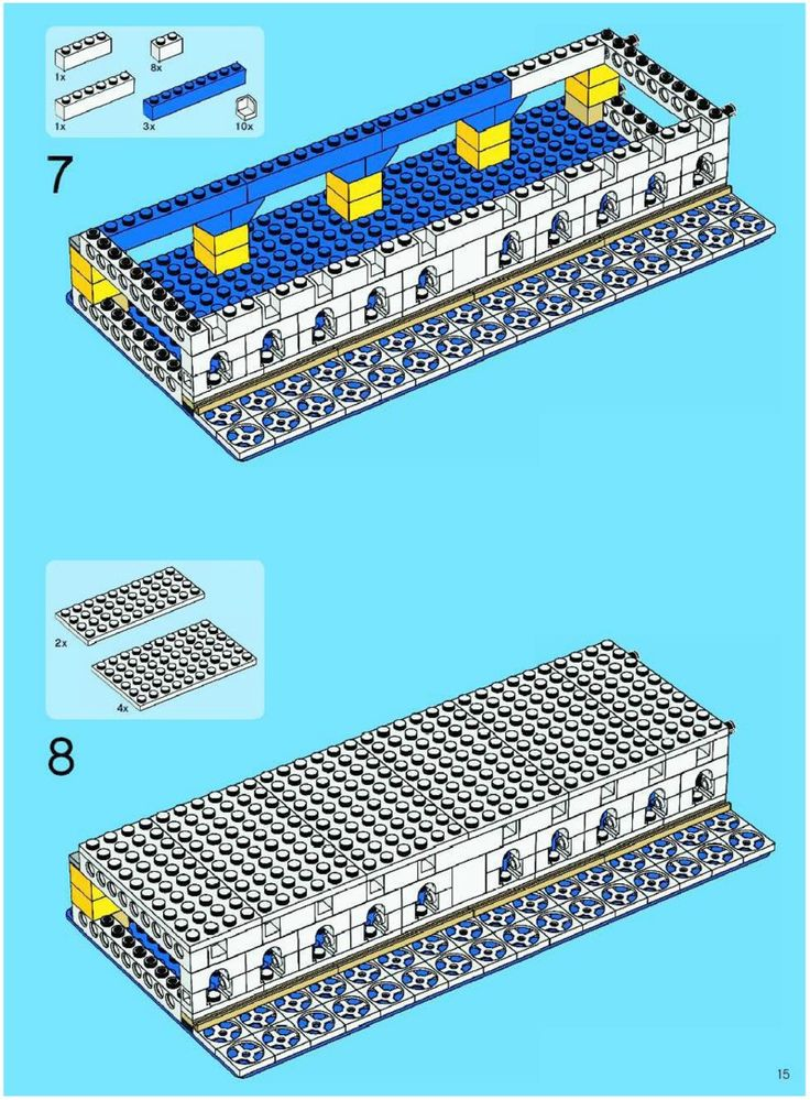 Taj Mahal Manual [Lego 10189]