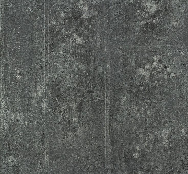 P.S Origin 42100-30 Tapete Vlies Beton Optik schwarz silber metallic