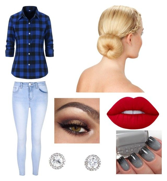 """Untitled #6"" by julle-fangirl on Polyvore featuring Glamorous and Lime Crime"