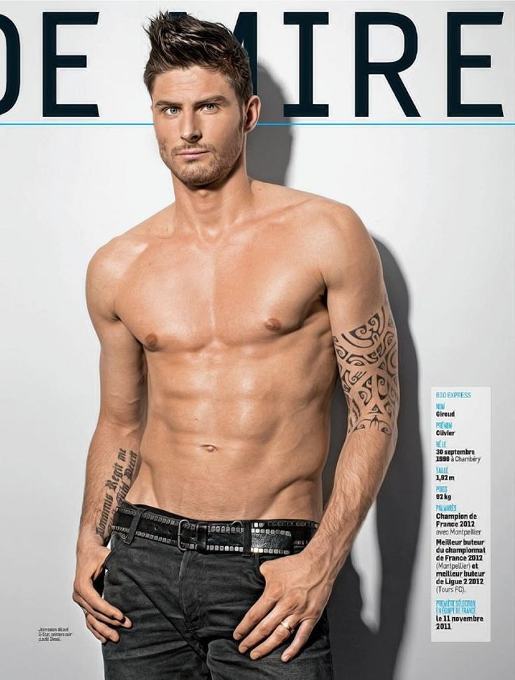 Olivier Giroud - Arsenal. Our Handsome French Bloke (Not our first and please God, not our last ;-)