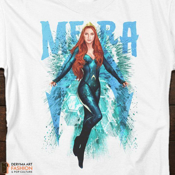 6f1672be1557e Aquaman T-Shirt, Queen Mera T-Shirt, Perfect Gift for Any Occassion ...