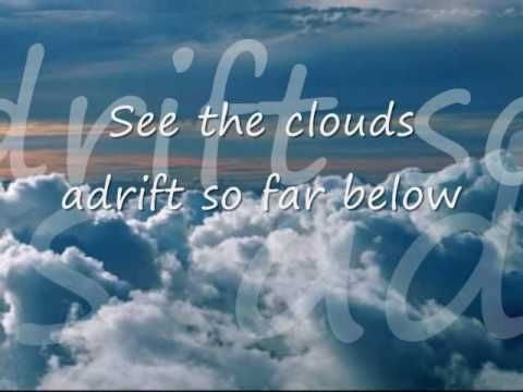 Clouds by Bread , David Gates w/ Lyrics  https://www.youtube.com/watch?v=aHYxF1ntpgg&list=PL85CF43406F53F360&index=10
