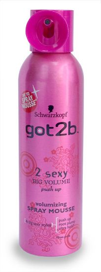 Schwarzkopf got2b 2 sexy volumizing spray mousse Schwarzkopf got2b 2 sexy volumizing spray mousse 250ml: Express Chemist offer fast delivery and friendly, reliable service. Buy Schwarzkopf got2b 2 sexy volumizing spray mousse 250ml online from Expre http://www.MightGet.com/january-2017-11/schwarzkopf-got2b-2-sexy-volumizing-spray-mousse.asp
