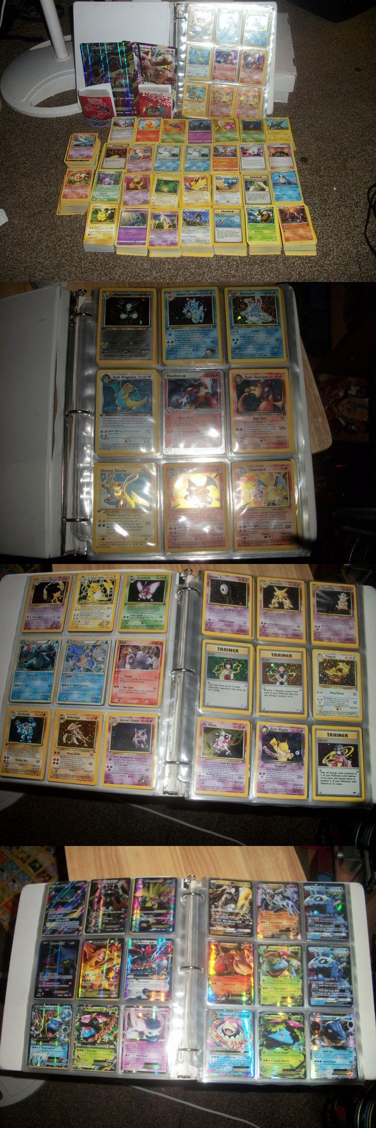 Pok mon Mixed Card Lots 104049: 3000+ Pokemon Lot Shiny Raichu, Base Charizards Old Rare Holos!Shadowless Gx, Ex -> BUY IT NOW ONLY: $1000 on eBay!