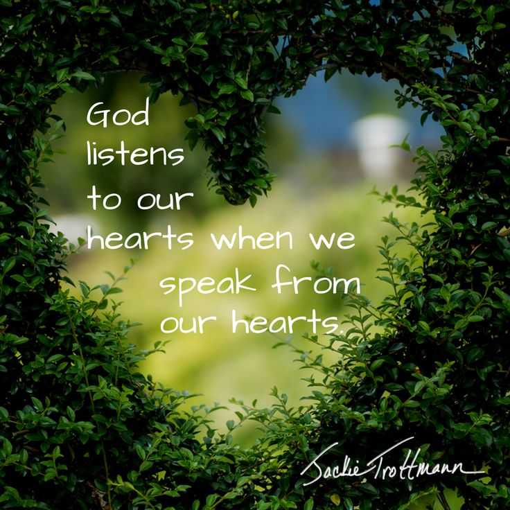 God hears all of our prayers. I've just experienced speed dialing when I truly speak from my heart. :) #heart #prayer #GodNotes #inspirational #InspirationalQuotes