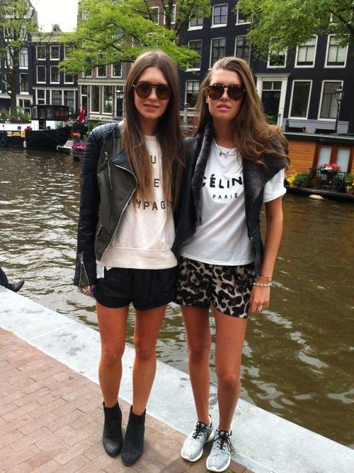 cool chicks in Amsterdam