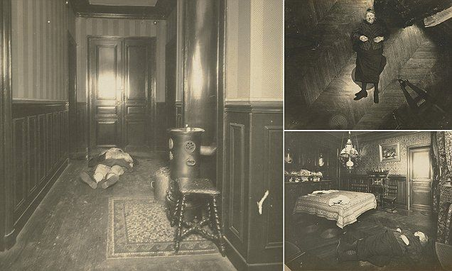These macabre and fascinating images of murder scenes from early 20th century Paris are the work of pioneering detective Alphonse Bertillon, who invented the modern mugshot.